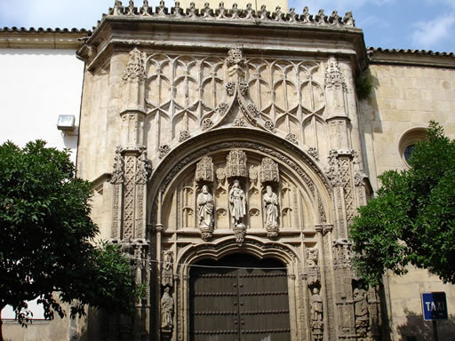 San Sebastian Hospital facing Mosque-Cathedral - Cordoba Spain