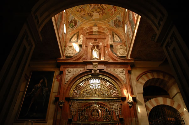 Chapel in Cordoba Cathedral