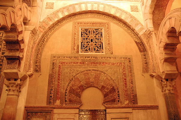 Caliph's entrance to Great Friday Mosque of Cordoba